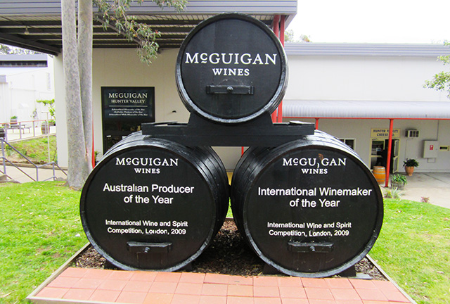 McGuigan Cellars Hunter Valley wine tours